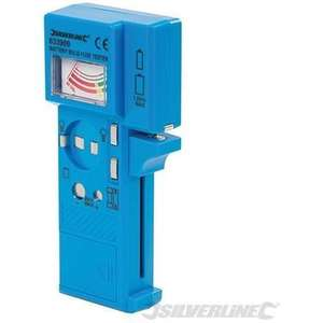 Testeur de piles, fusibles et ampoules Silverline