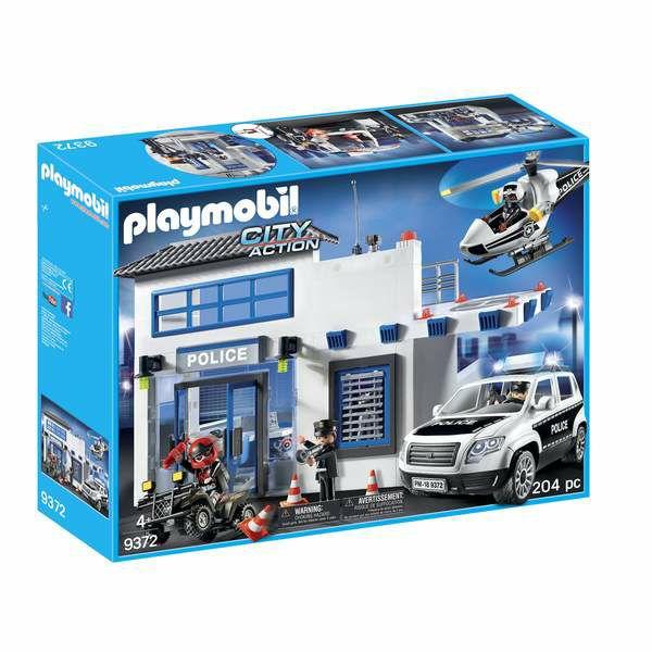 Playmobil City Action - Poste de police et véhicule (9372)