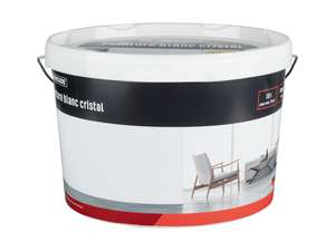 Pot de peinture blanc cristal Powerfix - 10 L, ~70 m2