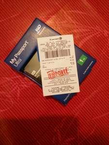 """Disque dur externe 2.5"""" WD My Passport Ultra 1 To"""
