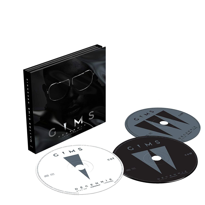 CD Gims Ceinture noire Décennie Digipack