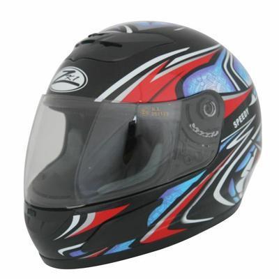 Sélection de casques moto en promo - Ex : ZK1 Casque Intégral Speedy Noir-Rouge