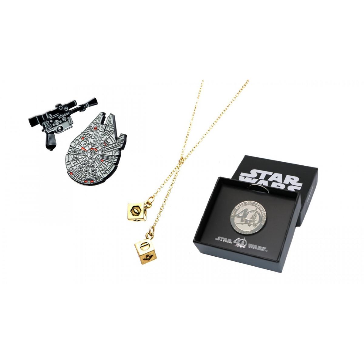 Pack de goodies Han Solo Star Wars IV - 40 ans (tesheros.com)
