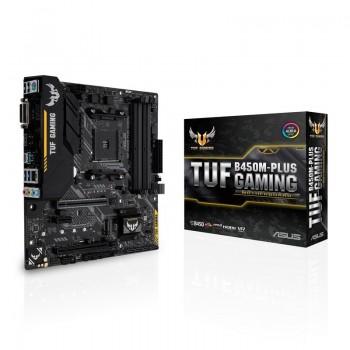 Carte mère Asus TUF B450M-Plus Gaming - Socket AM4 (Micro ATX)