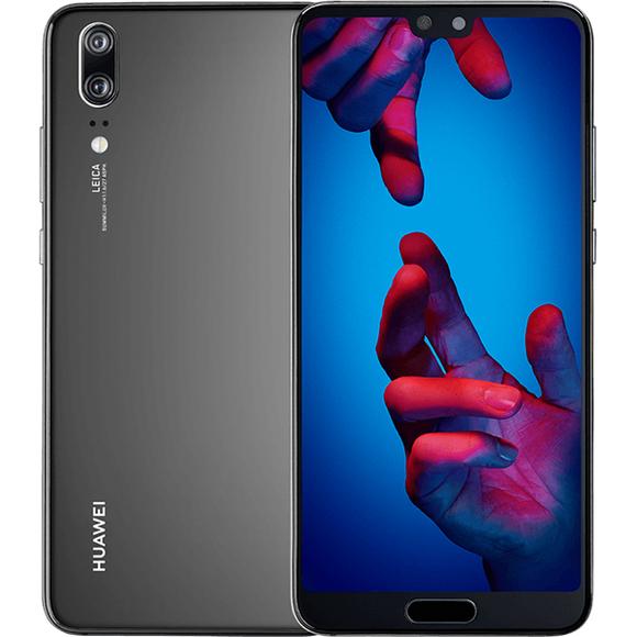 """Smartphone 5.84"""" Huawei P20 - 128 Go, Bleu (Reconditionné - Premium)"""