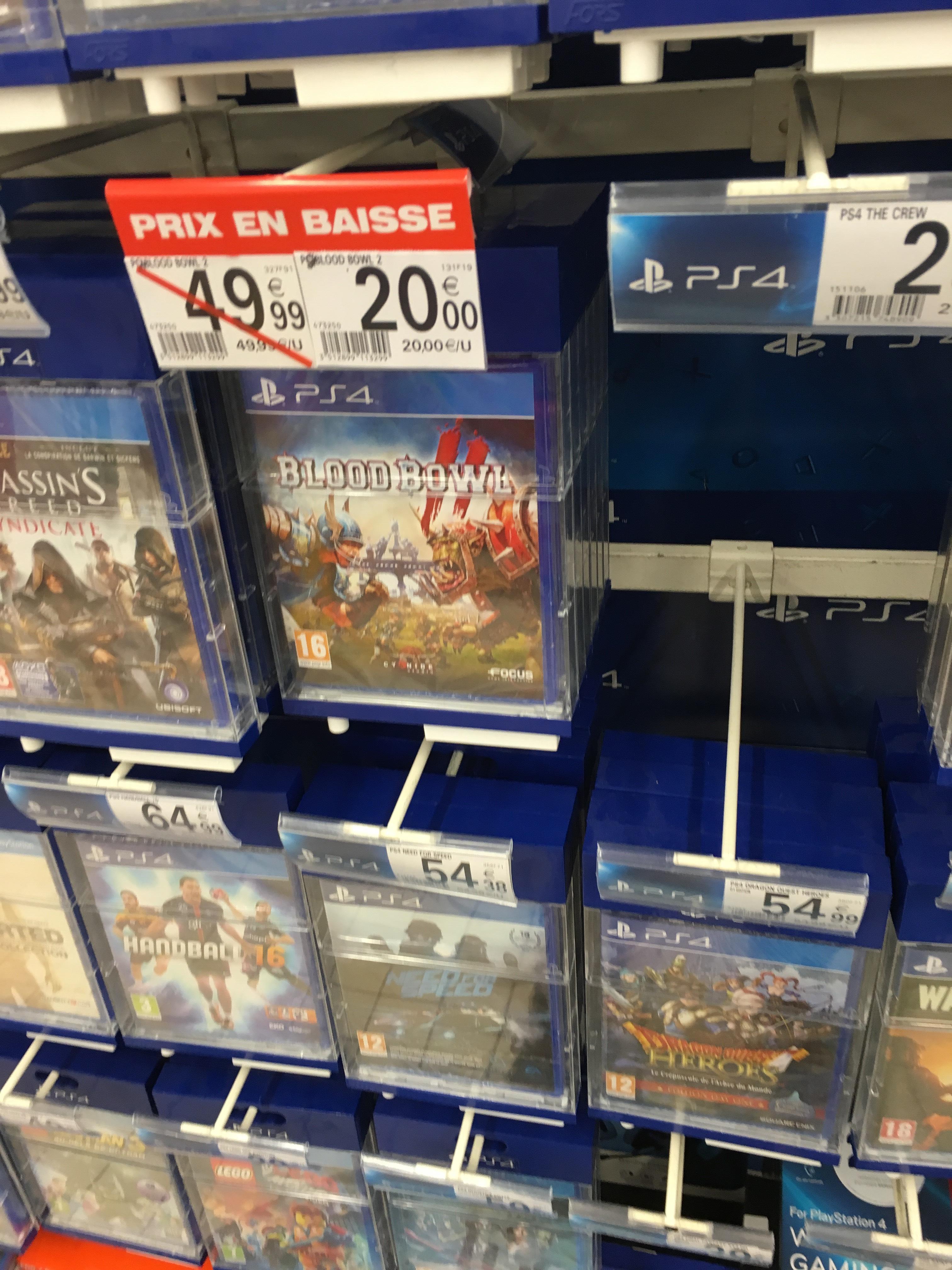 Jeu Bloodbowl 2 sur PS4