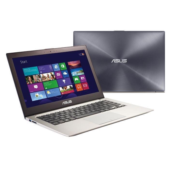 """PC Portable 13.3"""" Asus ZenBook UX32VD-R3001H - Intel i5-3317U, 4 Go de Ram, 500 Go + 24 Go SSD, GeForce GT620M 1Go - Reconditionné"""