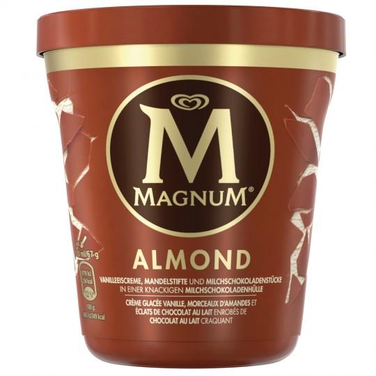 Pot de glace Magnum - 297g (via réduction + 1€ de BDR)