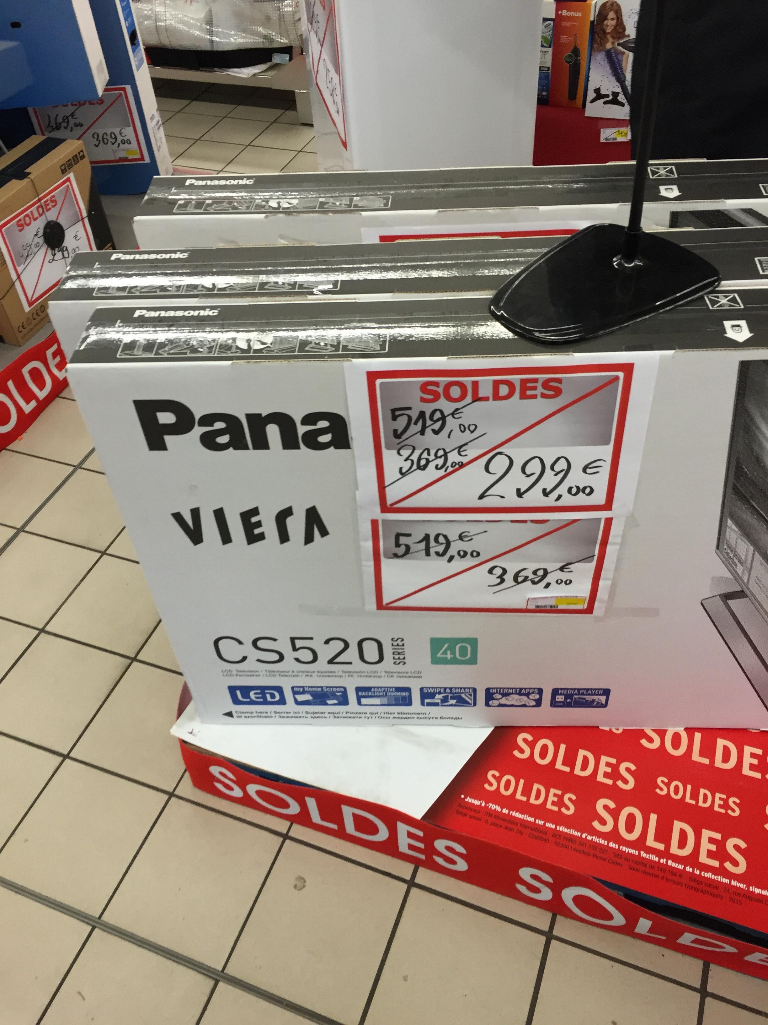 """TV 40"""" Panasonic tx 40CS520 Full HD"""