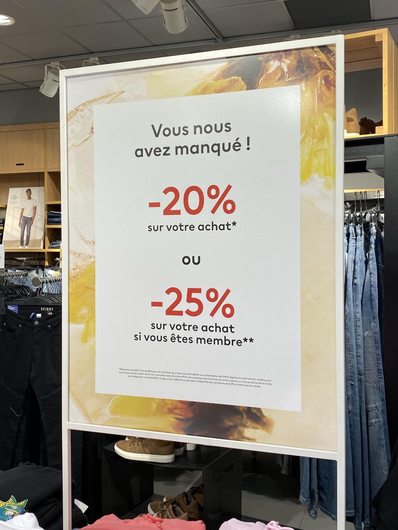 20% de réduction sur votre achat (-25% pour les Membres)