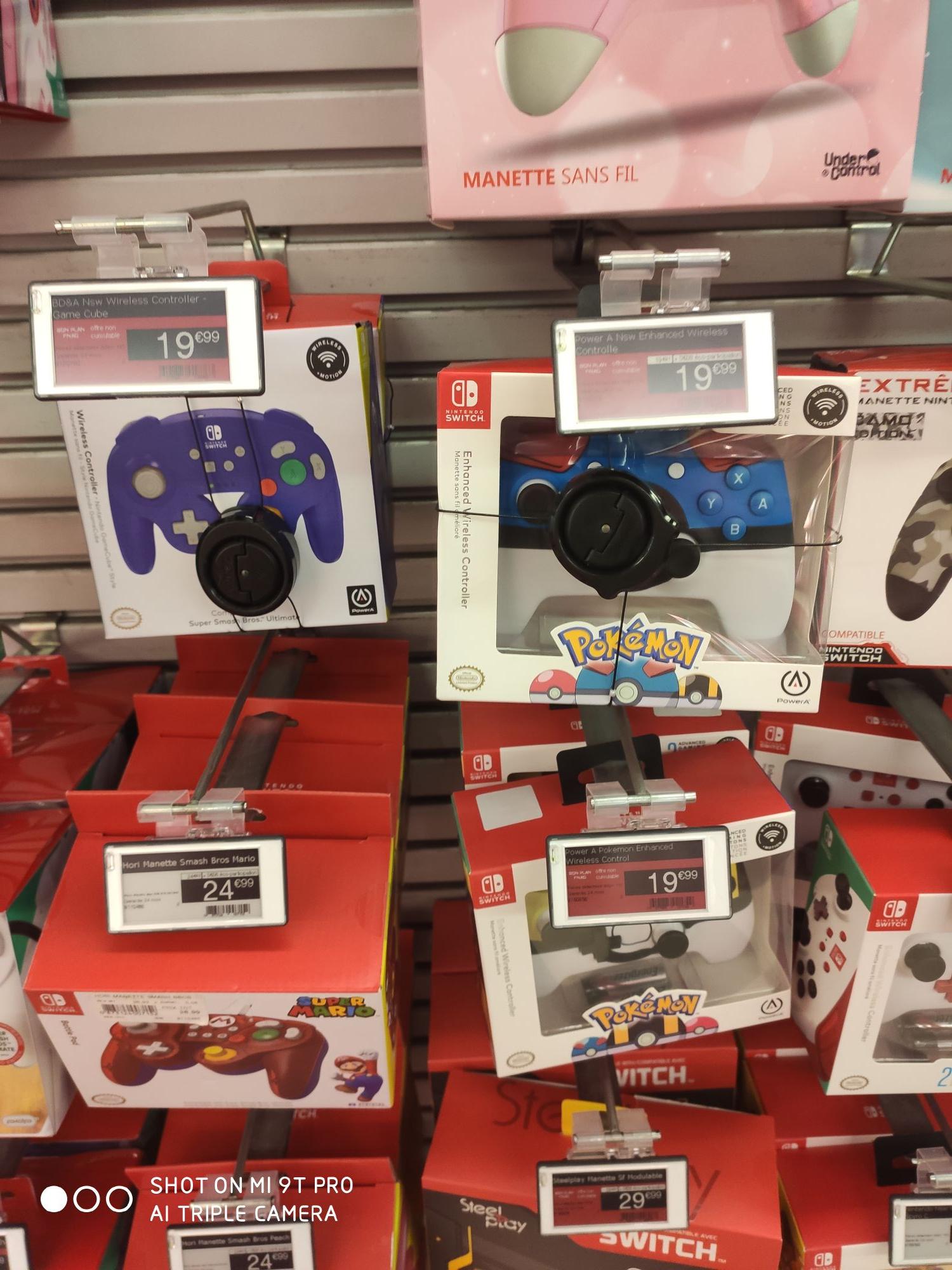 Sélection de manette pour Nintendo Switch à partir de 19.90€ - sûrement national - Saint Lazare (75)