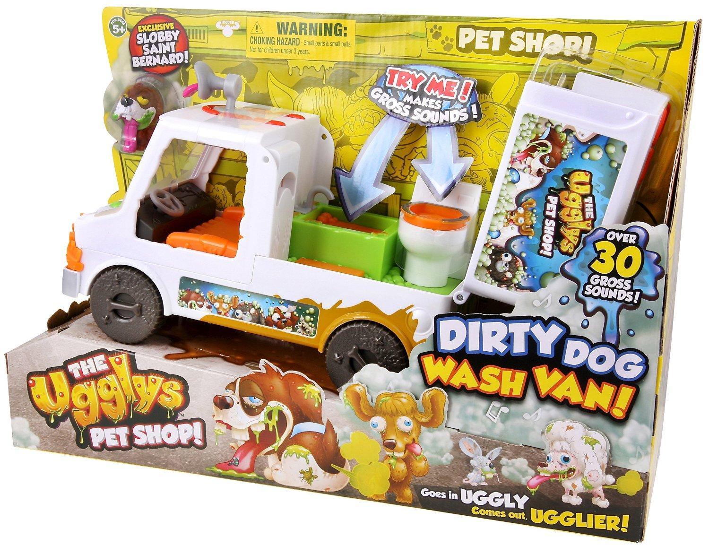 The Ugglys Pet Shop Fourgon de Toilettage : Véhicule + 1 Figurine