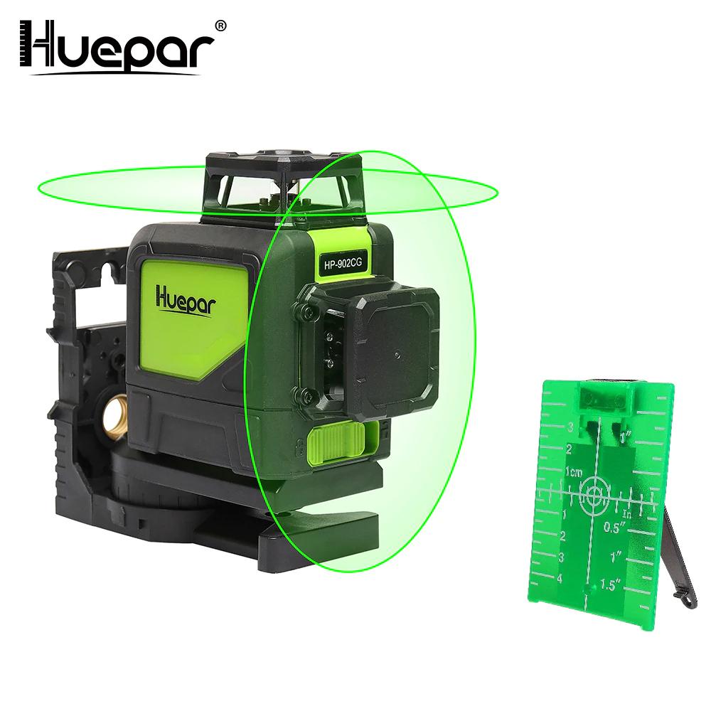 Niveau laser vert Huepar 902CG - 360 degrés (90,13€ via le code MAYFR7) - Entrepôt Espagne