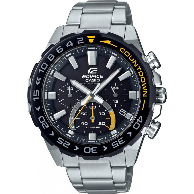 Montre à Quartz Casio Edifice EFS-S550DB-1AVUEF - Boitier 47mm, 10 ATM (www.watches2u.com)