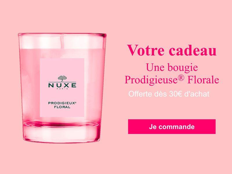 Une bougie ProdigieuseFlorale offerte dès 30€ d'achat