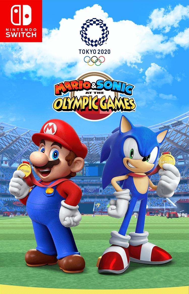 Mario & Sonic aux Jeux Olympiques de Tokyo 2020 sur Nintendo Switch (Dématérialisé - eShop Canadien)