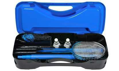 Set de Badminton avec Filet, Raquettes & Volants