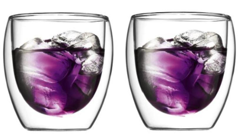 Set de 2 verres Bodum Pavina double paroi 25cL