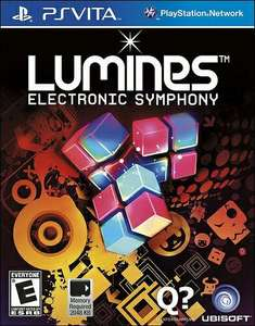Lumines Electronic Symphony sur PS Vita