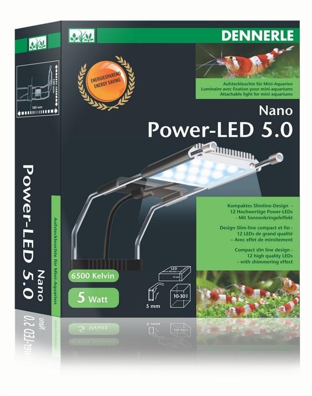 Lampe LED Dennerle Nano Power LED 5 pour aquariophilie