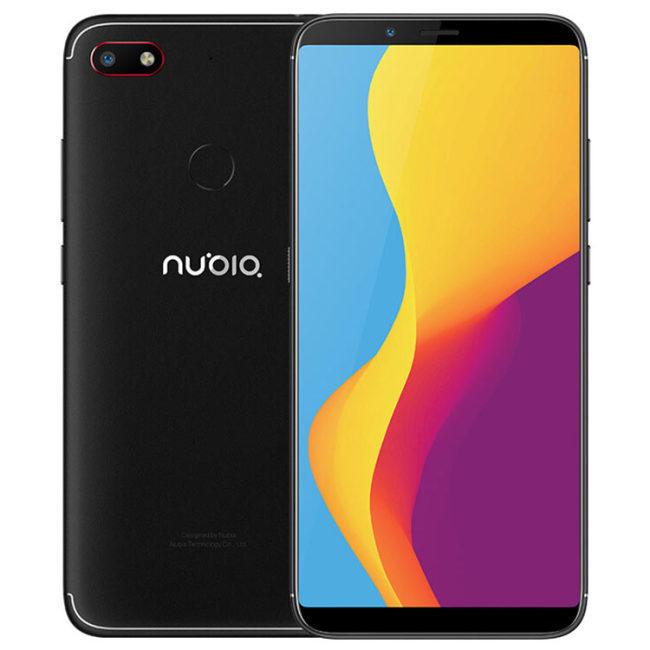 "Smartphone 6"" Nubia V18 (Global Version - B20) - Full HD+ IPS, Snapdragon 625, 4/64Go, 4000mAh (66.70€ via MAYFR10)"