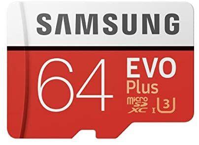 Carte mémoire MicroSDXC Samsung EVO Plus - 64 Go (Vendeur Tiers)