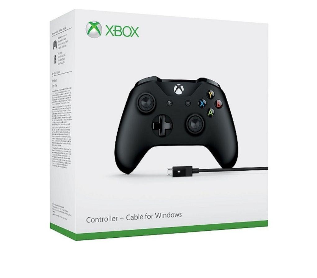 Manette sans-fil Microsoft pour Xbox One pour Xbox One + Câble