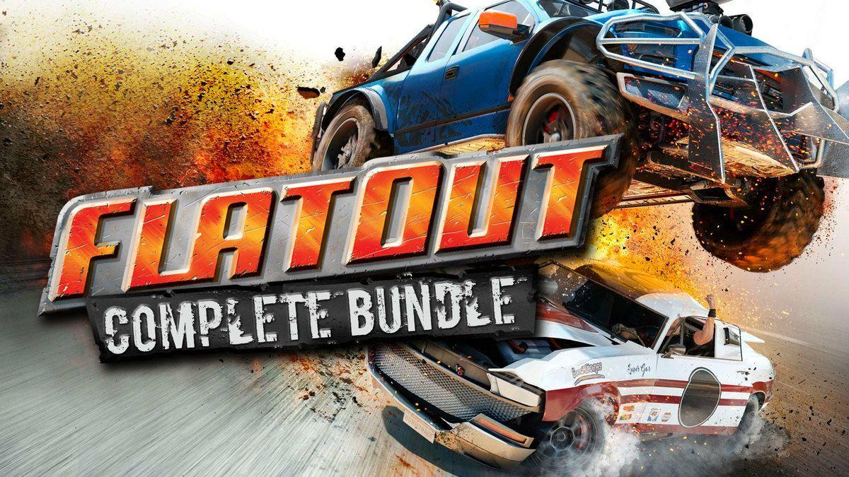 Total Flatout (Bundle de 5 Jeux) + 1 DLC sur PC (Dématérialisés)