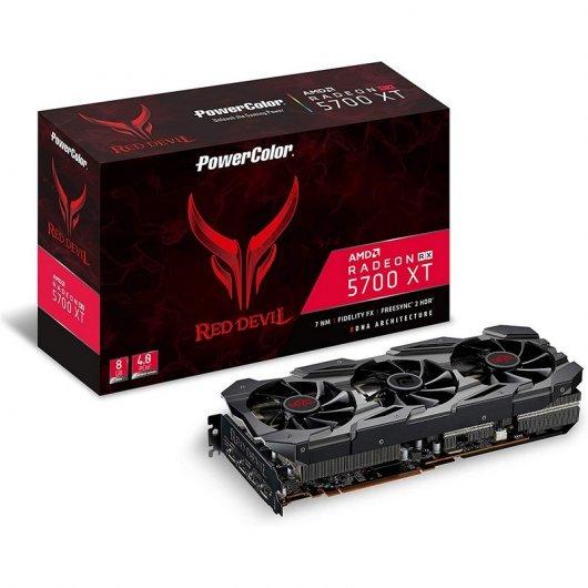 Carte Graphique PowerColor Red Devil Radeon RX 5700 XT (pccomponentes.com)