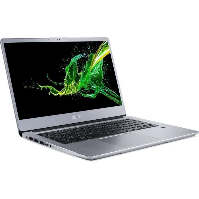 """PC Portable 14"""" Acer Swift 3 SF314-41-R5ER - FHD, AMD Ryzen 5 3500U, 8 Go RAM, 256 Go SSD, Windows 10"""