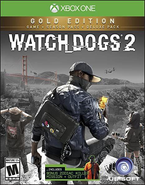 Watch dogs 2 Gold edition sur Xbox One (Dématérialisé)