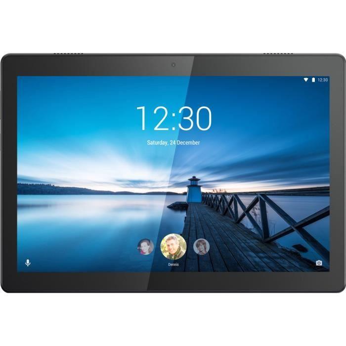 """Tablette Tactile 10"""" Lenovo Tab M10 - FHD, 4 Go, 64 Go de ROM, Android 9 Pie, Noir"""