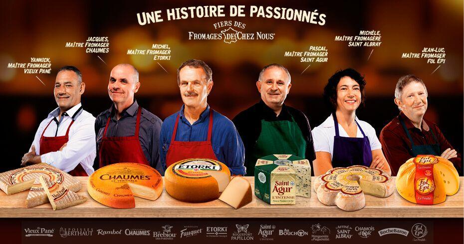 Remboursement de 3 parts de fromages jusqu'à 12€ (4€ / part maxi)