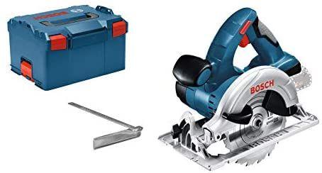 Scie Circulaire Sans-Fil Bosch Professional 18V GKS 18 V-LI + Accessoires (Sans batterie ni chargeur)