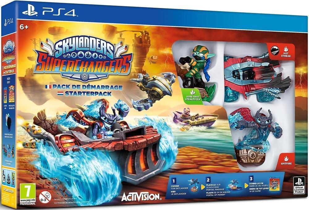 Pack de démarrage Skylanders Superchargers sur Wii U à 34.99€ et sur PS4 et Xbox One
