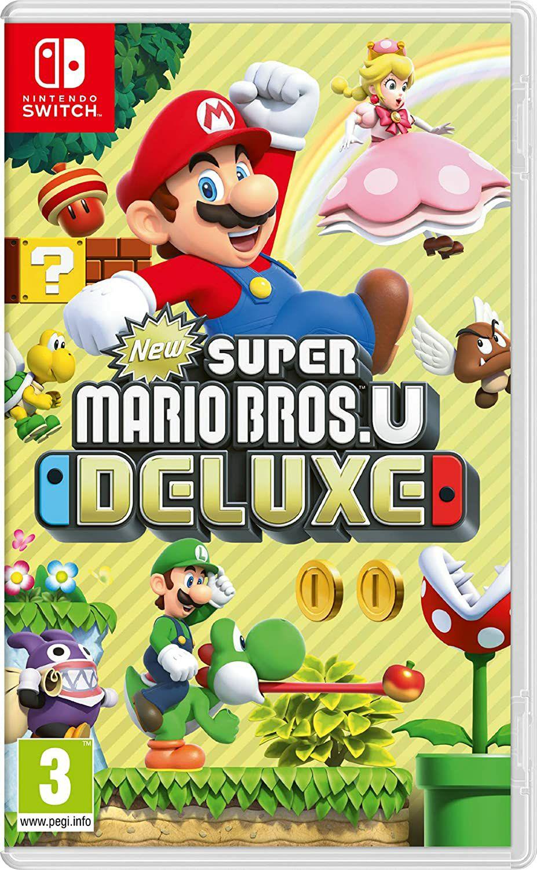 Jeu New Super Mario Bros. U Deluxe sur Nintendo Switch