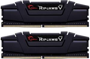 Kit Mémoire DDR4 G.Skill Ripjaws V F4-3200C16D-32GVK - 32 Go (2 x 16 Go), 3200Mhz, C16