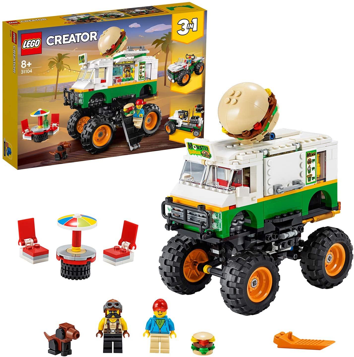 Lego Creator 31104 - Monster Burger Truck