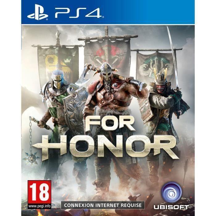 For Honor Jeu PS4 + 2 LED Light Bar Skin