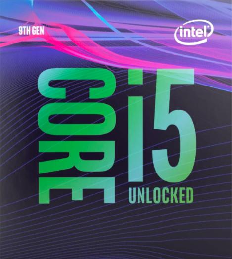 Processeur Intel I5-9600K - 3.7Ghz, LG 1151 (Vendeur Tiers)