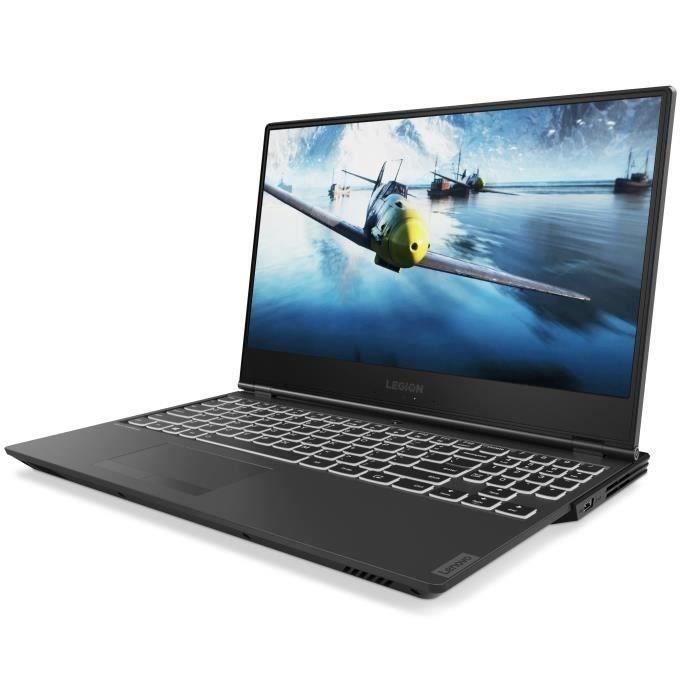 """PC Portable 15.6"""" Lenovo Legion Y540-15IRH - Full HD, i5-9300H, RAM 8 Go, HDD 1 To + SSD 256 Go, GTX 1660 Ti - 6 Go, Windows 10"""