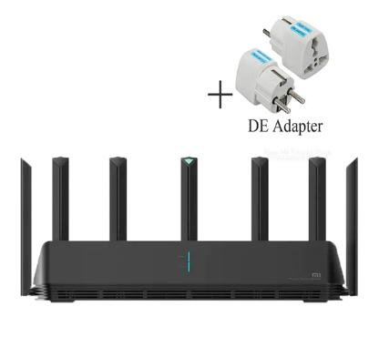 Routeur Xiaomi AX3600 - Wi-Fi 6, Dual-Band 2976Mbs, AIoT + Adaptateur EU