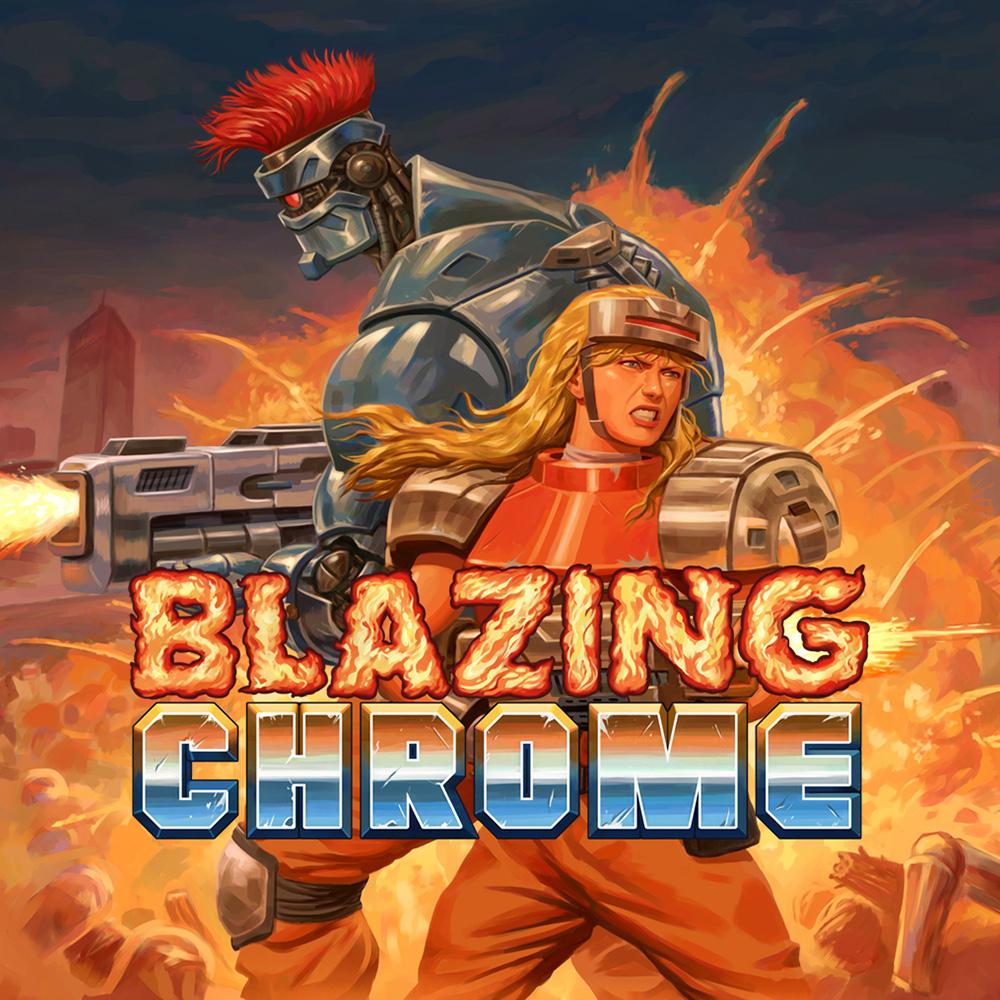 Blazing Chrome sur Nintendo Switch (Dématérialisé - eShop Afrique du Sud)