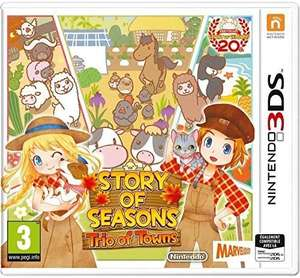 Story of Seasons: Trio of Towns sur Nintendo 3DS