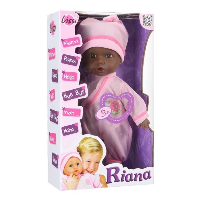 Poupée Lissi Dolls Riana - 6 sons