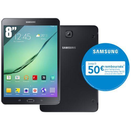 "Tablette 8""  32 Go Samsung Galaxy Tab S2 (via ODR de 50€)"