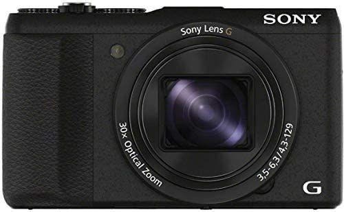 Appareil Photo Numérique Compact Sony DSC-HX60B - 20,4MP, Zoom Optique 30x, Noir