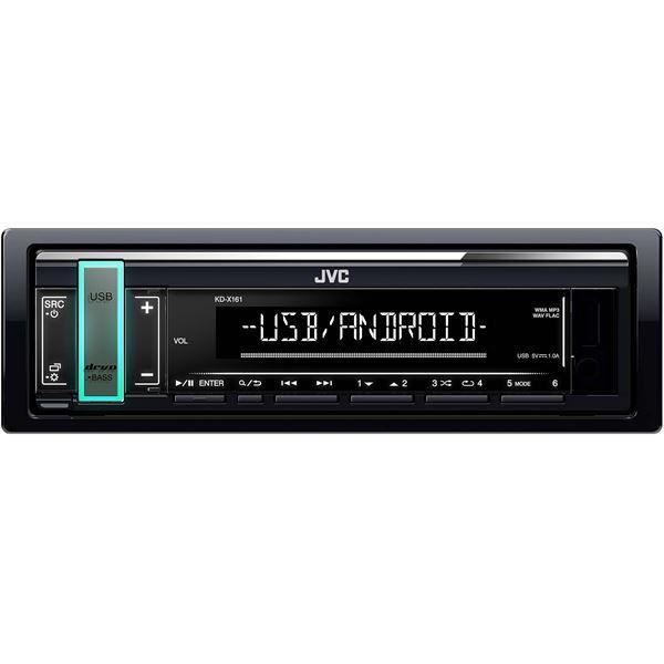 Autoradio JVC KD-X161 - USB, AUX (Via ODR 15€)