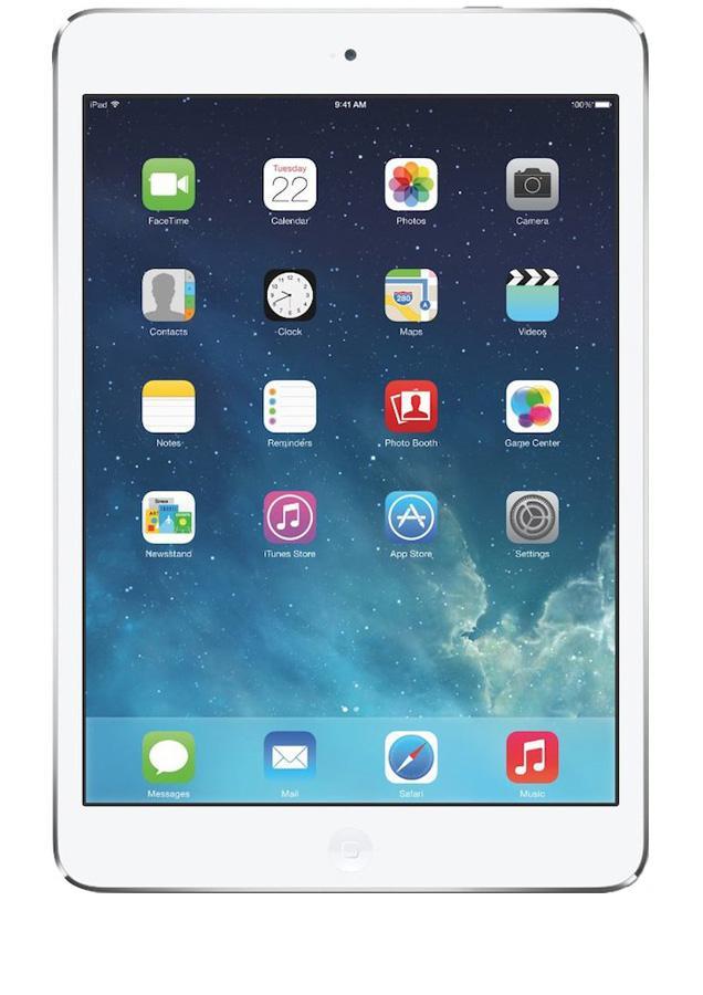 """Tablette 9.7"""" Apple iPad Air 4G - 32 Go, Argent + Forfait 1 mois Let's Go sans engagement"""