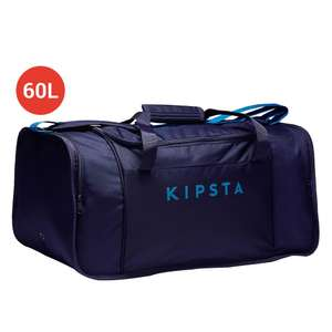 Sac de sports Kipsta Kipocket - 60 L, Bleu (via retrait en magasin)
